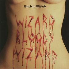 Electric Wizard - Wizard Bloody Wizard - New White with Red Splatter Vinyl -RSD