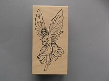 CREATIVE IMAGES RUBBER STAMPS CISTAMPS WOMAN FAIRY NEW wood STAMP