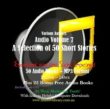 CD - 50 Short Stories Audio Books Vol 7 - Sight Impaired, Blind  - Resell