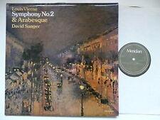 DAVID SANGER PLAYS VIERNE SYMPHONY NO 2 & ARABESQUE MERIDIAN 77021