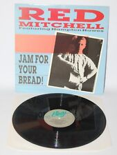 Red Mitchell Feat. Hampton Hawes - Jam For Your Bread! - 1986 Vinyl LP - AFF 159