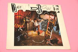 DAVID BOWIE LP NEVER LET ME DOWN SIGILLATO ! ORIG HOLLAND 1987 DIRECT METAL MAST