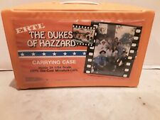 1981 ERTL/THE DUKES OF HAZZARD CARRYING CASE-HOLDS 24 1/64 Scale Die Cast Cars