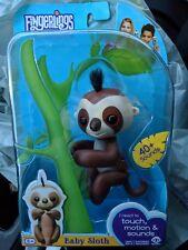 Wowwee Authentic Fingerlings Sloth Kingsley Walmart Exclusive, Rare Fingerling