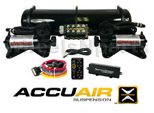 AccuAir Suspension VU4 EXO Mounts Tank SwitchSpeed Black 480 Air Compressors