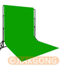 Green Photography Chromakey Backdrop 3m x 6m 100% Cotton Muslin background