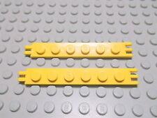 Lego 2 Scharniere Gelenke gelb 1x6  4504 Set 8868 6393 6674 8431