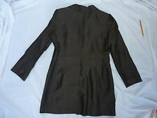 Jacket -Brown, Lined, 2-Pocket, 3-Button