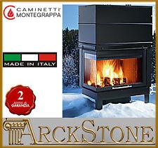 ARCKSTONE MONTEGRAPPA Camino CM P05 legna aria calda naturale Sinistro 10,5 KW