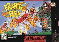 Frantic Flea (Super Nintendo Entertainment System, 1995) Game Only