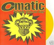 "OMATIC - ""TEENAGE MAKE-OUT KING"" - 7"" - 1995 - GOLD WAX"
