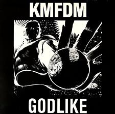 """KMFDM - GODLIKE (12"""") (VG/VG-)"""