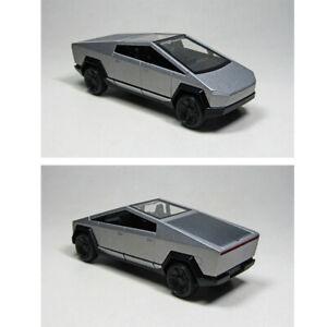 2077  Elon Musk's cybertruck New Silver hot wheels 1:64 Alloy Diecasts Vehicle