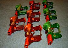 Lazer Tag Team Ops LOT 8 Gun Tiger Electronics PARTY PACK Green Orange Deluxe