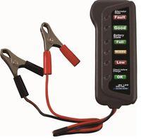 12V Car Battery & Alternator Tester - Battery Charging (LED indication) V7W3
