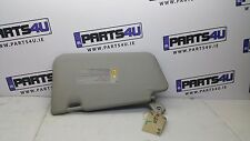 2004 NISSAN	MICRA SUN VISOR LEFT SIDE RHD LIGHT GREY COLOUR