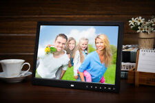 15 inch LED Digital Photo Clock/MP4/Movie Player Picture Frame Album Touch Key