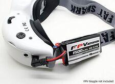 Quanum 2s 7.4V 1500mAh 3C 5.5mm Lipo battery for FPV Fatshark Boscam Skyzone