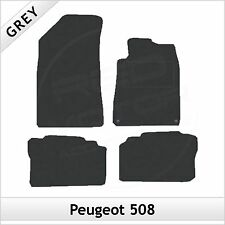 Peugeot 508 2011 onwards Tailored Fitted Carpet Car Floor Mats GREY