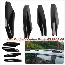For Toyota Land Cruiser Prado FJ120 03-09 Roof Rack Rail End Cover Shell Replace