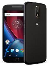 "Motorola Moto G4 Plus 5.5"" 4G (GSM UNLOCKED) 32GB Smartphone XT1641 | Black"