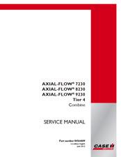 Case IH Combine Axial-Flow 7230, 8230, 9230 Tier 4 Service Manual