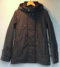 Roxy Women's Bolton Valley Snowboard Winter Jacket Gray Black Size XL NEW