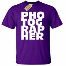 Mens Photographer Gift Tee Photography T-Shirt Camera