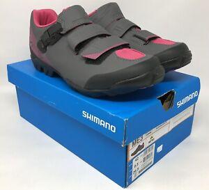 SHIMANO Women's ME3 MTB Gravel Shoes Black/Magenta Size EU 42 US 9.5 MSRP $100