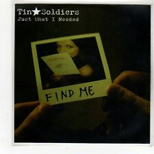 (FS357) Tin Soldiers, Just What I Needed - DJ CD