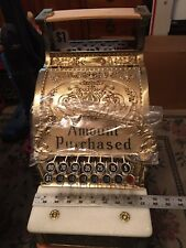Brass National Cash Register 313 Special Edition 100 yr anniversary