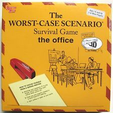 WORST CASE SCENARIO OFFICE EDITION BOARD GAME BY UNIVERSITY GAMES - NEW & SEALED