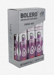 Bolero Himbeere Drink - Instant Getränkepulver - 12 Sticks