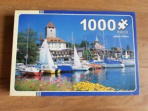 The Works, Lake Thun and Spiez , Switzerland, 1000 Piece Jigsaw Puzzle