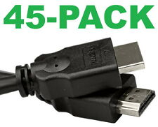 NEW 45-PACK Vericom 6' HDMI Cables Bluray 3D DVD PS3 XBOX LCD LED HDTV 1080P 4K