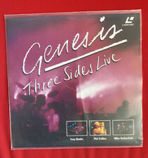 Laserdisc Genesis Three Sides Live / Musik / PAL