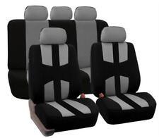 9Pcs Auto Seat Cover Car Full Styling Seat Cover For Crossovers Sedans Gray
