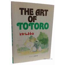 The Art of Totoro Studio Ghibli Art Book Hayao Miyazaki My Neighbor Totoro Japan