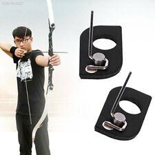 1set combo Leather Arrow Rest Traditional Recurve Bow Longbow Arrow Rest Fad OS