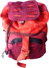 Borse da donna rosse con tasche interne in cotone