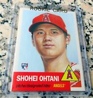 SHOHEI OHTANI 2018 Topps SP Rookie Card RC Logo Pitcher / DH HR Power $$ HOT $$