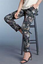 NEXT Tailored Floreale Affusolato Pantaloni 10 T