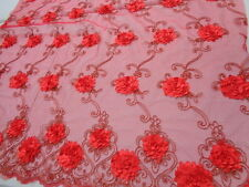 Embroidered French Lace, 'Coaraze' (per metre) dress fabric, sewing, french