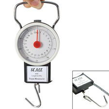 22KG Portable Fish Hook Hanging Spring Weight Weighing Scale - 05