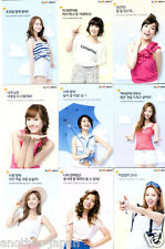 Lot 9 SNSD GIRLS' GENERATION Promotional Goods NOT FOR SALE Photo Card full set