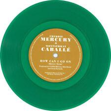 """Freddie MERCURY-How Can I Go On-Montserrat Caballé GREEN VINYL 7"""" NEW LUREX"""