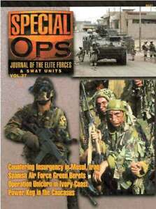 SPECIAL OPS - JOURNAL OF THE ELITE FORCES & SWAT UNITS VOL.37 - CONCORD - NEW