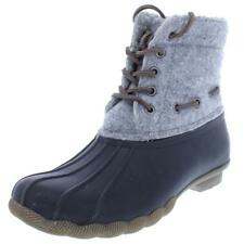 Steve Madden Womens Gray Duck Winter Boots Shoes 8 Medium (B,M) BHFO 8545