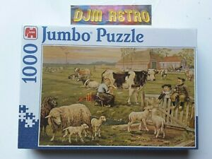 NEW 1000 Piece Jigsaw Puzzle  JUMBO ......IN THE FIELD......... NEW AND SEALED.