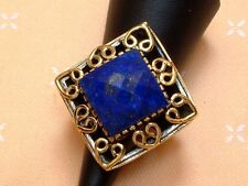 Antique Design - exclusiver Ring mit Lapis Lazuli - Sterling Silber -925- Gr. 55